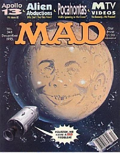 Cover for MAD (EC, 1952 series) #341
