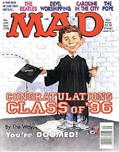 Cover for MAD (EC, 1952 series) #345