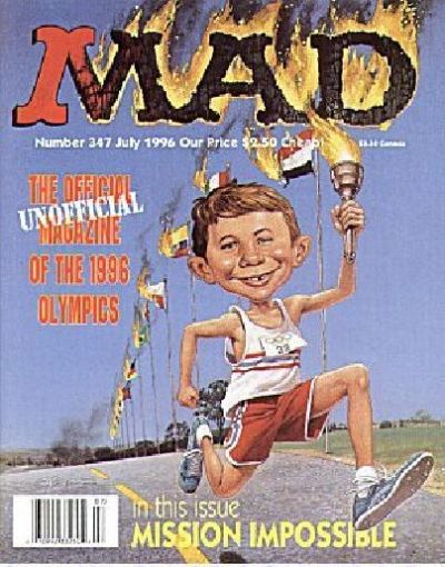 Cover for MAD (EC, 1952 series) #347