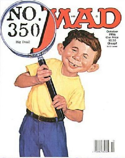 Cover for MAD (EC, 1952 series) #350