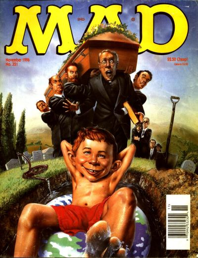 Cover for MAD (EC, 1952 series) #351