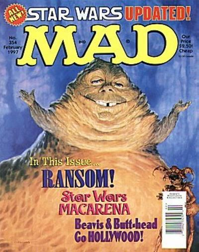 Cover for MAD (EC, 1952 series) #354