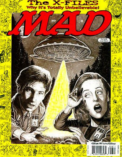 Cover for MAD (EC, 1952 series) #358