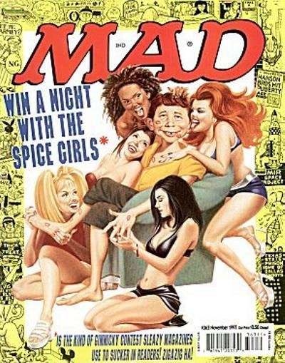 Cover for MAD (EC, 1952 series) #363