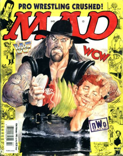 Cover for MAD (EC, 1952 series) #366