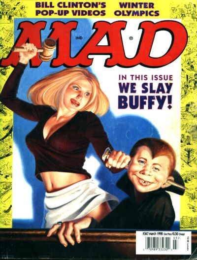 Cover for MAD (EC, 1952 series) #367