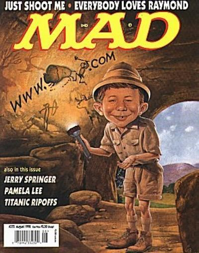 Cover for MAD (EC, 1952 series) #372