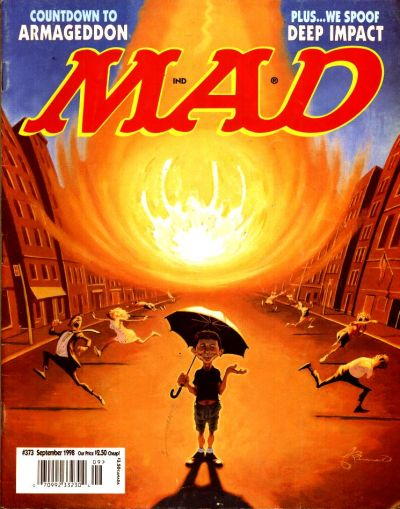 Cover for MAD (EC, 1952 series) #373