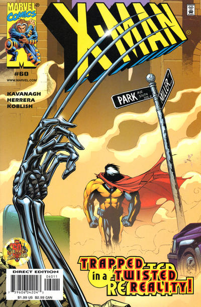 Cover for X-Man (Marvel, 1995 series) #60
