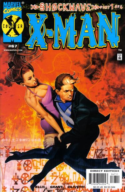 Cover for X-Man (Marvel, 1995 series) #67