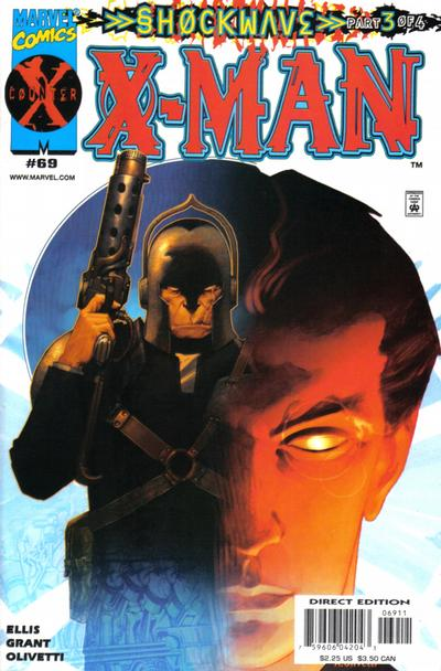 Cover for X-Man (Marvel, 1995 series) #69