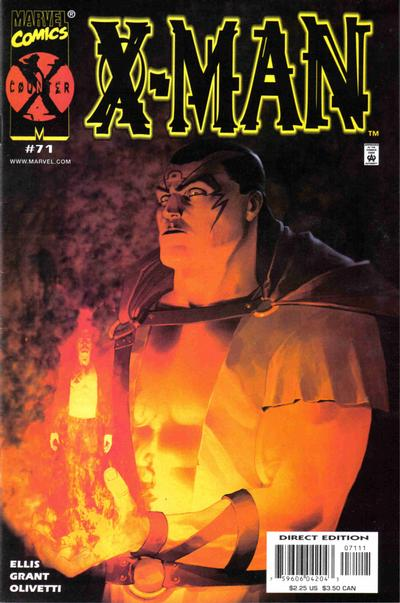 Cover for X-Man (Marvel, 1995 series) #71