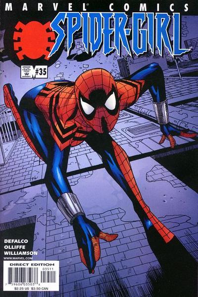 Cover for Spider-Girl (Marvel, 1998 series) #35