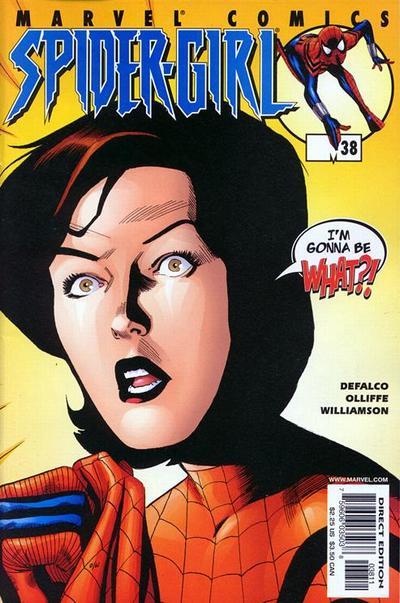 Cover for Spider-Girl (Marvel, 1998 series) #38