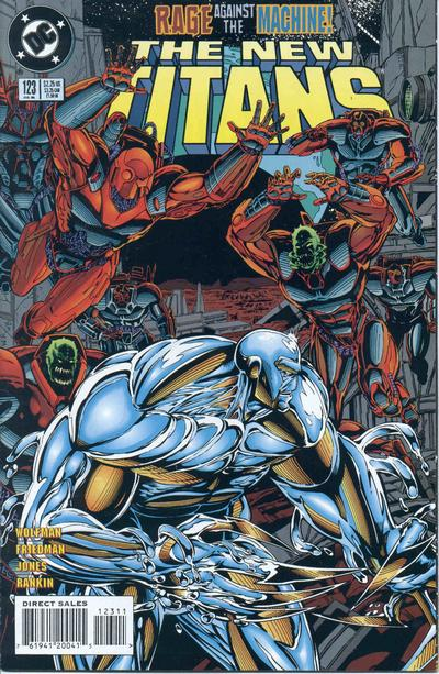 Cover for The New Titans (DC, 1988 series) #123