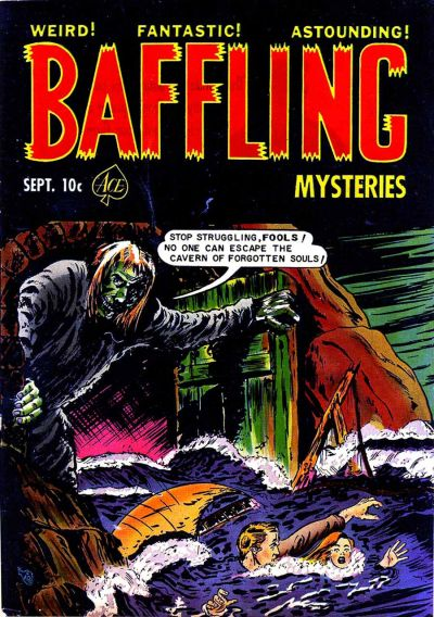 Cover for Baffling Mysteries (Ace Magazines, 1951 series) #10