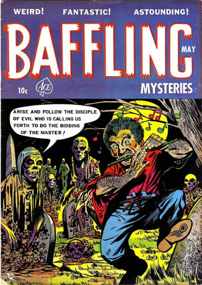Cover for Baffling Mysteries (Ace Magazines, 1951 series) #15