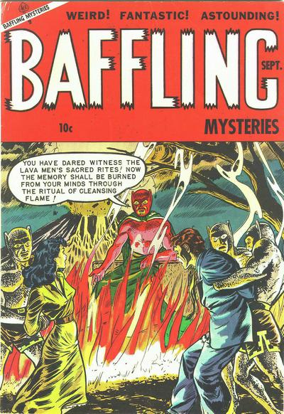 Cover for Baffling Mysteries (Ace Magazines, 1951 series) #17