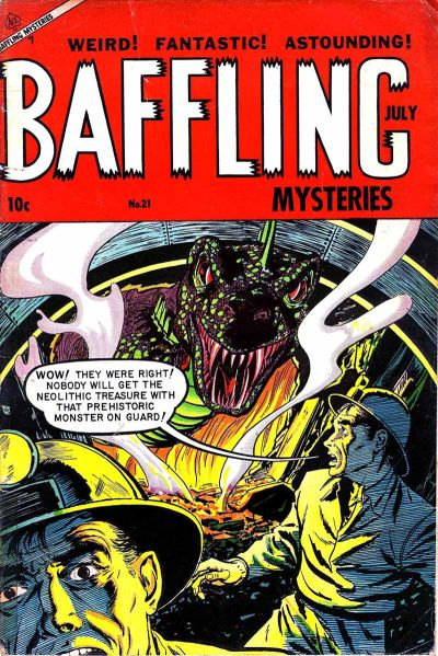 Cover for Baffling Mysteries (Ace Magazines, 1951 series) #21