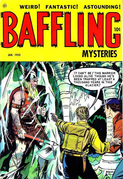 Cover for Baffling Mysteries (Ace Magazines, 1951 series) #24