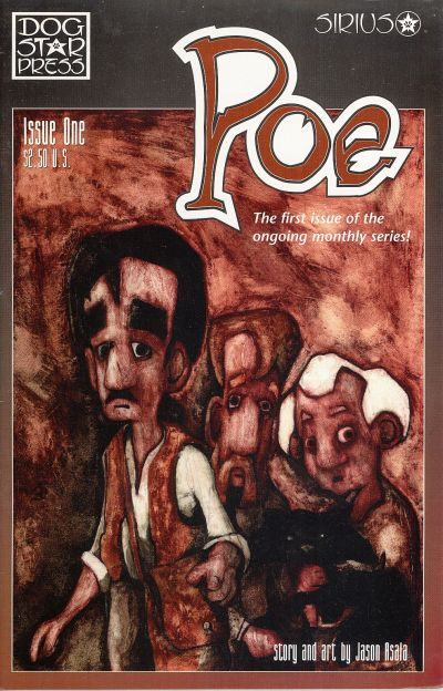Cover for Poe (SIRIUS Entertainment, 1997 series) #1