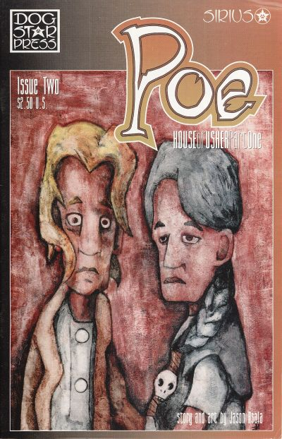 Cover for Poe (SIRIUS Entertainment, 1997 series) #2