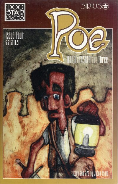 Cover for Poe (SIRIUS Entertainment, 1997 series) #4