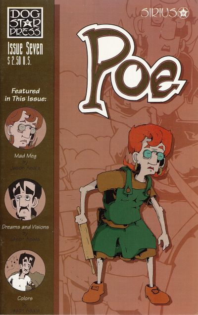 Cover for Poe (SIRIUS Entertainment, 1997 series) #7