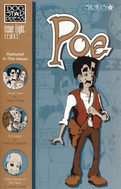 Cover for Poe (SIRIUS Entertainment, 1997 series) #8