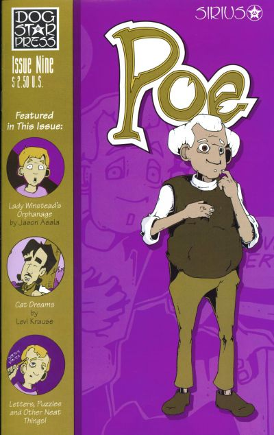 Cover for Poe (SIRIUS Entertainment, 1997 series) #9