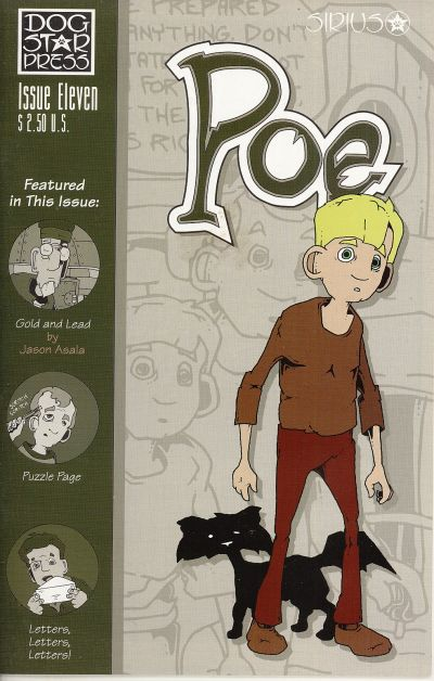 Cover for Poe (SIRIUS Entertainment, 1997 series) #11