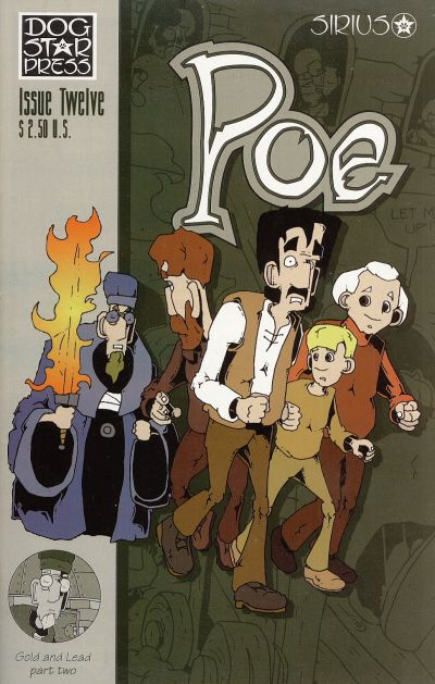 Cover for Poe (SIRIUS Entertainment, 1997 series) #12