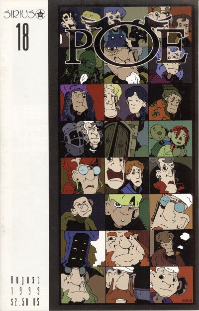 Cover for Poe (SIRIUS Entertainment, 1997 series) #18
