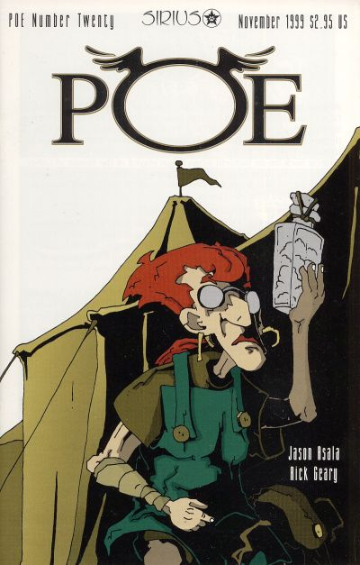 Cover for Poe (SIRIUS Entertainment, 1997 series) #20