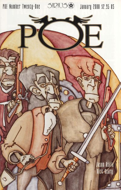 Cover for Poe (SIRIUS Entertainment, 1997 series) #21