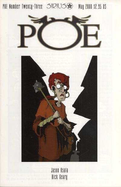 Cover for Poe (SIRIUS Entertainment, 1997 series) #23
