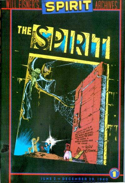 Cover for Will Eisner's The Spirit Archives (DC, 2000 series) #1