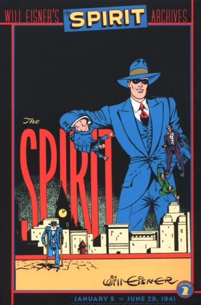 Cover for Will Eisner's The Spirit Archives (DC, 2000 series) #2