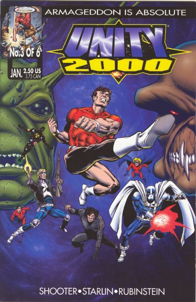 Cover for Unity 2000 (Acclaim / Valiant, 1999 series) #3