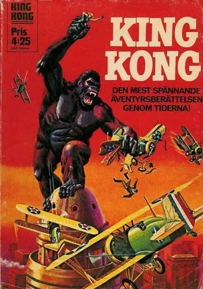 Cover for King Kong (Williams Förlags AB, 1970 series) #[1975]