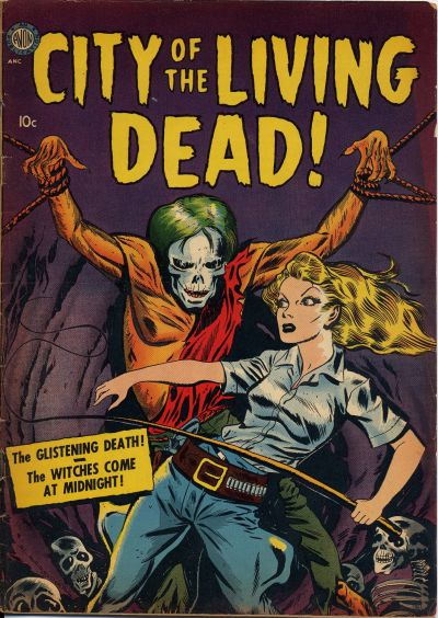 Cover for City of the Living Dead (Avon, 1952 series)
