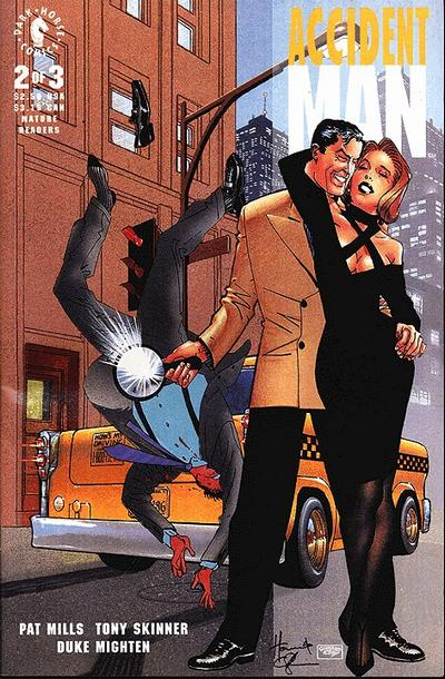 Cover for Accident Man (Dark Horse, 1993 series) #2