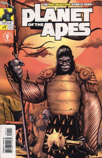 Cover for Planet of the Apes (Dark Horse, 2001 series) #1 [Photo Cover]