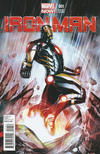 Cover Thumbnail for Iron Man (2013 series) #1 [Variant Cover by Adi Granov]