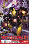 Cover Thumbnail for Iron Man (2013 series) #1 [Newsstand Edition by Greg Land]