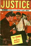 Cover for Justice Comics (Bell Features, 1948 ? series) #16