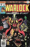 Cover for Warlock (Marvel, 1972 series) #15 [British]