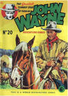 Cover for John Wayne Adventure Comics (World Distributors, 1950 ? series) #20