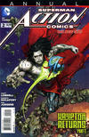 Cover for Action Comics Annual (DC, 2012 series) #2