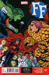 Cover for FF (Marvel, 2013 series) #12